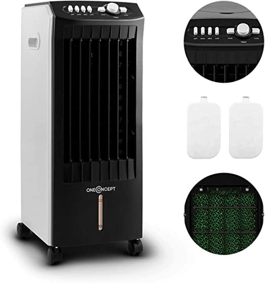 Oneconcept MCH-1 V2 – 3 en 1, Ventilador, Enfriador de Aire ...