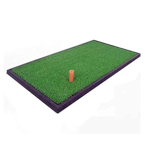 Amazon.com: CS-LJ Golf Mini Fairway Mat Swing Trainer Golf ...