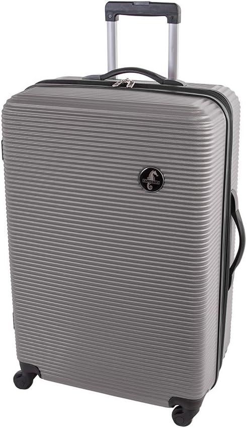 Burgundy Atlantic Tribute II Medium Luggage Hardside Expandable Spinner Luggage 24-Inch