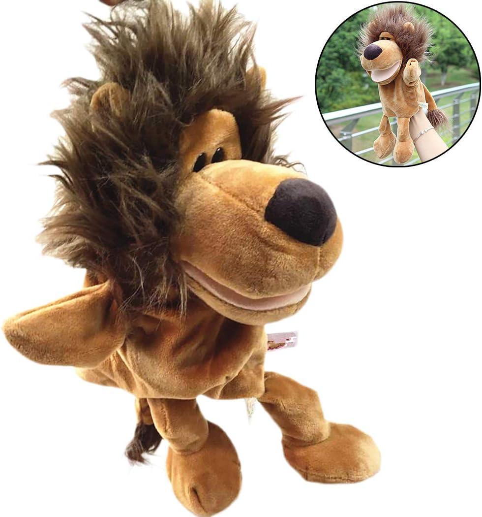 Joyibay Marioneta De Mano De Dibujos Animados Juguete De Felpa Suave De Forma Animal Lindo Enseñar Juguete para Contar Cuentos