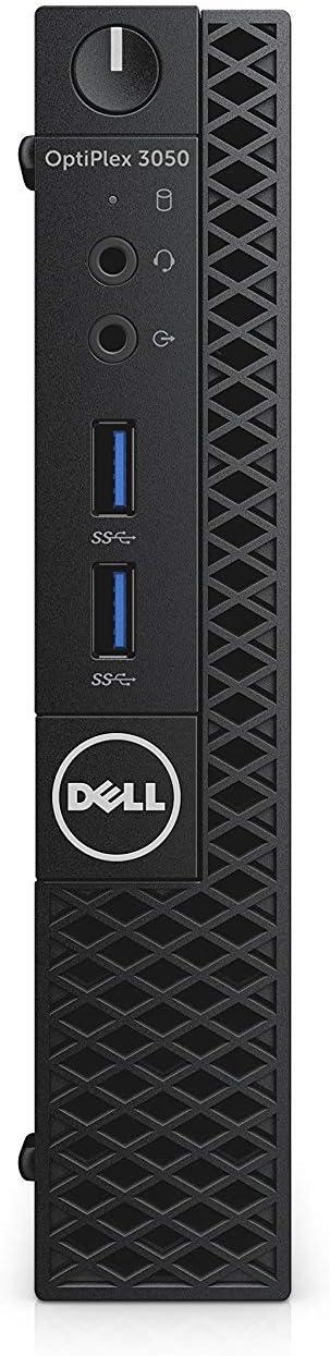 Optiplex 3050 Micro PC Desktop, Intel Core i5-7500T 2.7GHz Quad-Core (4 Core), 8GB DDR4 RAM, 256GB SSD, Windows 10 Pro
