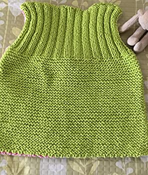 LINNEAN AVENUE Pink and Green Striped Cardigan Hand Knit Baby Sweater Girls Children Clothing Perfect for Spring Baby Showers