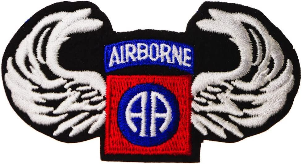 MADE IN AMERICA!! US ARMY AIRBORNE WINGS PATCH