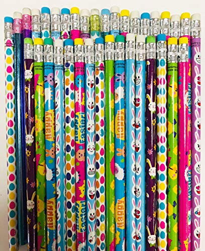 HAPPY DEALS ~ 36 Easter Pencils - Easter Party Favors and prizes - 3 dz per Order