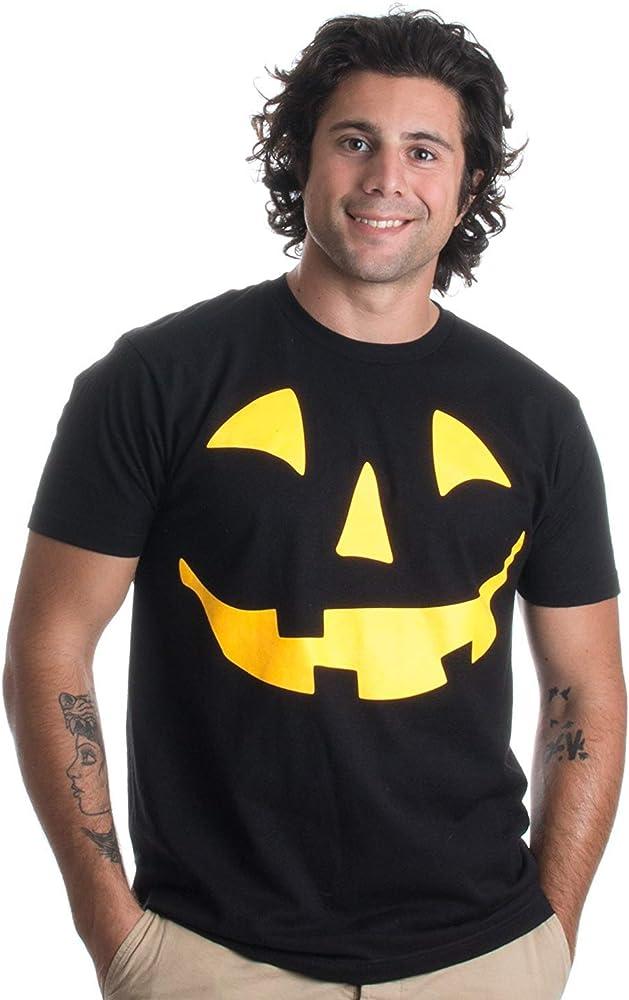 Glow in The Dark Jack O Lantern Face | Halloween Pumpkin Costume ...