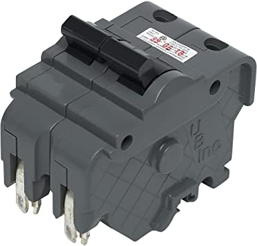 CHALLENGER  BRAND   FPE NA220 2 POLE 20 AMP  CIRCUIT BREAKER THICK