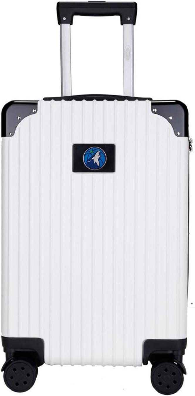 NBA Two-Tone Premium Carry-On Hardcase Luggage	Spinner
