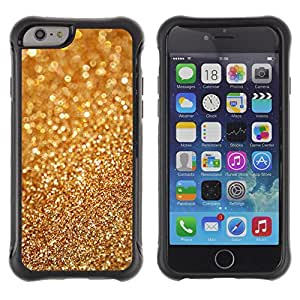 SHIMIN CAO@ Gold Dust Bling Blurry Metal Glitter Shiny Rugged Hybrid Armor Slim Protection Case Cover Shell For iphone 6 6S CASE Cover ,iphone 6 4.7 case,iphone 6 cover ,Cases for iphone 6S 4.7