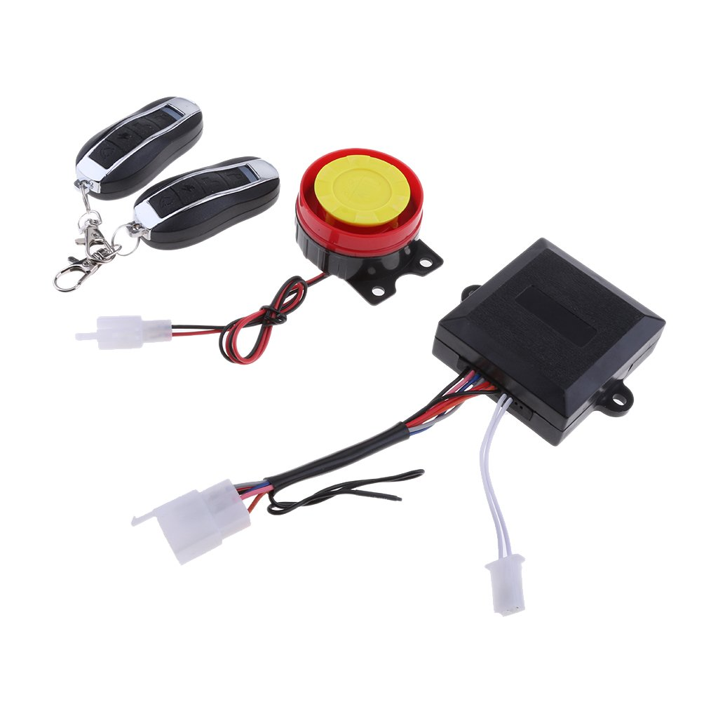 Baoblaze Motorcycle Bike Protector Anti Theft Security Alarm System with Remote Control