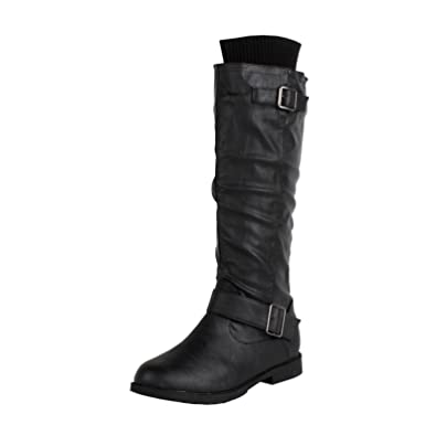Womens Osaka Knee High Motorcycle Riding Boots