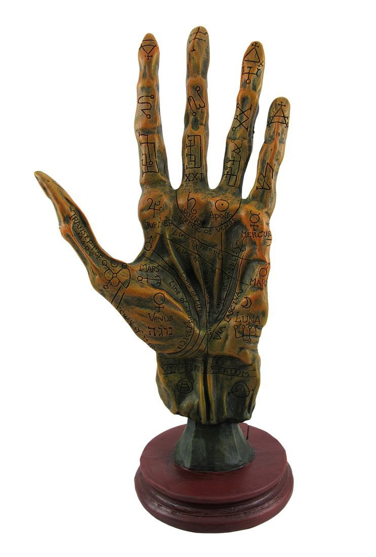 Things2Die4 Alchemy Mummified Palmistry Hand Gothic by Things2Die4