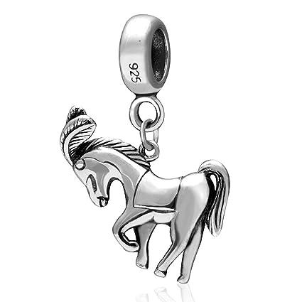 17b81739e discount code for pandora bracelet sale f9da5 c26e1; usa the horse charm  925 sterling silver animal charm pendant charms fit pandora charm bracelets  1d608
