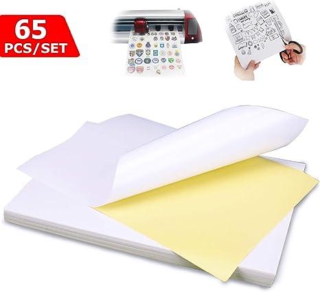Impresora Papel A4 Etiquetas universales Autoadhesivas Hojas ...
