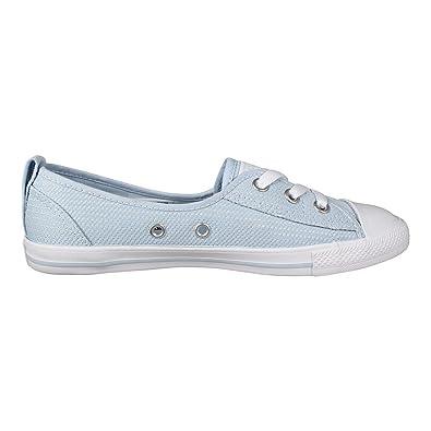 Ox Damen Ballet Adidas Taylor Lace Star Chuck All SneakerBlau D29eWIYHEb