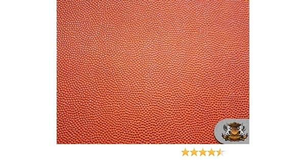 Amazon Com Vinyl Basketball 54 Wide Orange Fake Leather Upholstery