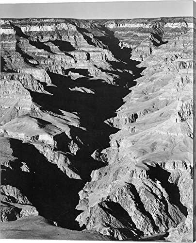 National Archives by Ansel Adams Canvas Art Wall Picture, Gallery Wrap, 16 x 20 inches (Ansel Adams Canvas)