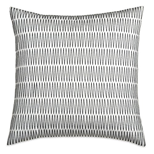 DKNY City Pleat Embroidered Decorative Pillow