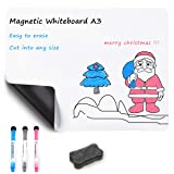 Magnetic Refrigerator Dry Erase White Board by