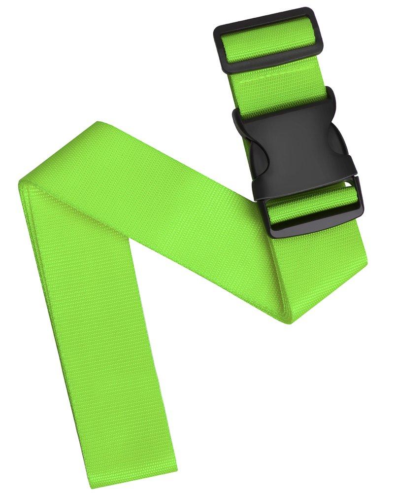 cintura portabagagli regolabile cintura portabagagli accessori Pushingbest cinghie per valigie