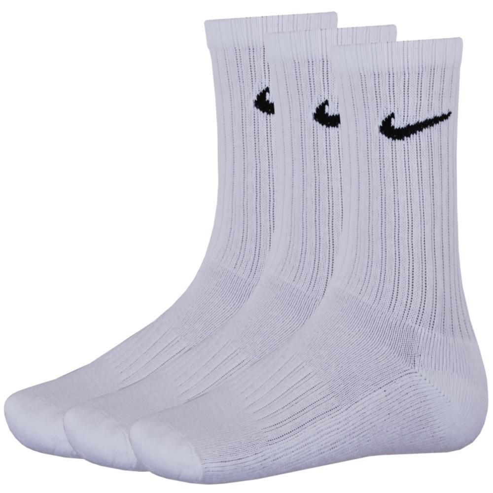 9 Paar NIKE Sportsocken Socken Größe L (42-46) weiss Vorteilspack