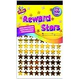 Stickers Autocollants 900 Etoiles Or, Argent, Bronze, Récompenses de Professeur pour Les Bons Ecoliers