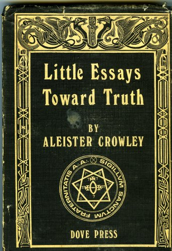 Aleister crowley little essays towards truth bibliographic source list
