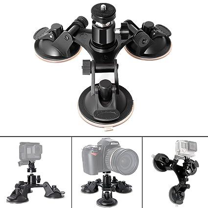 d24a155e1 Fantaseal® Super Tri-Cup Camera Suction Mount DSLR  Amazon.co.uk ...