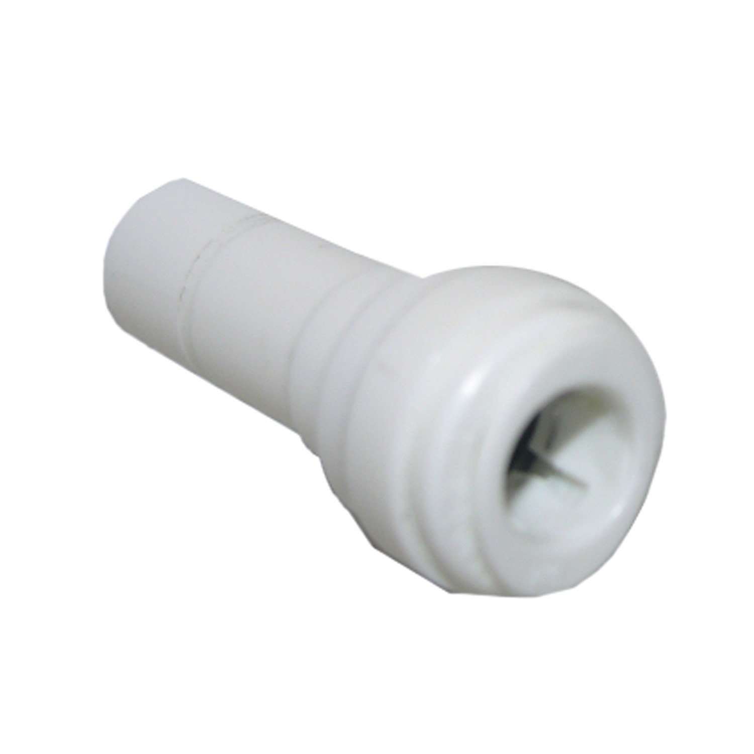 Plastic LASCO 19-6257 Reducer Push-In Fitting with 3//8-Inch Stem and 1//4-Inch Tube