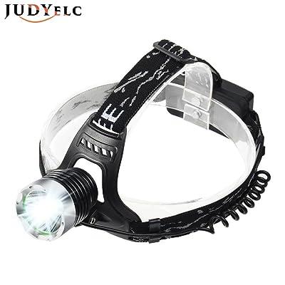 Judyelc Led Lampe Frontale Zoom 3 Modes Lumineux Phares Led Avec