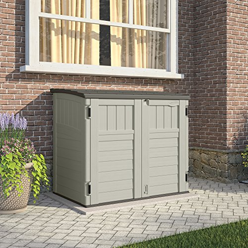 Suncast bms2500 horizontal storage shed buy online in for Garden shed uae