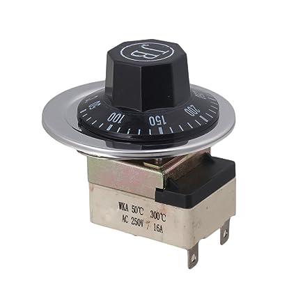 cnbtr AC 16 A 25 – 20 V 50 – 300 Celsius termostato para horno eléctrico