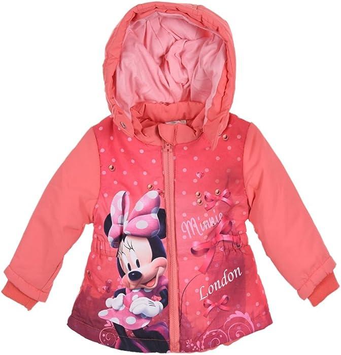Minnie - Abrigos - para bebé niña Rojo 6 Meses