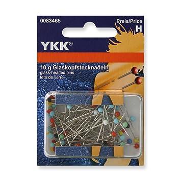 10 gramm YKK 83465 Glaskopfstecknadeln 0,6 x 30mm