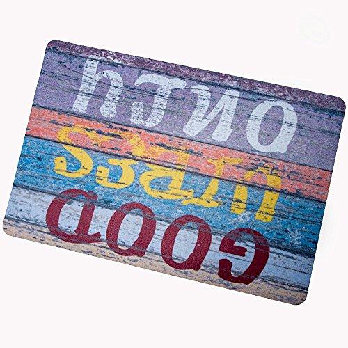 (Good Vibes Only Custom Doormat Door Mat Machine Washable Rug Non Slip Mats Bathroom Kitchen)