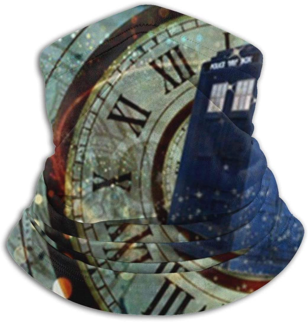 Doctor Dr Who Police Box Mice Custom Design Cool Gaming Mousepd Mouse Pad Mat 12 Unisex Seamless Rave Bandana Neck Gaiter Tube Headwear Bandana Summer UV Protection Neck Gaiter Face Scarf Mask