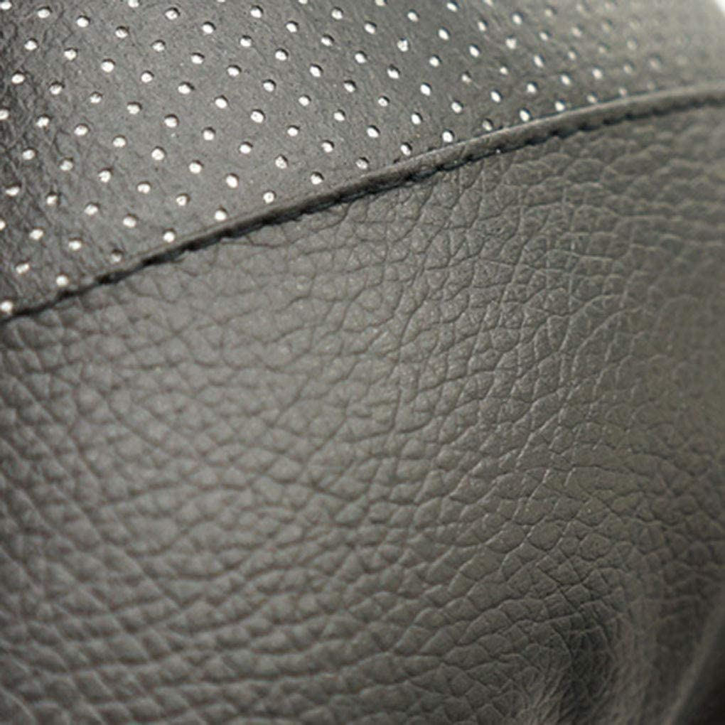 Black Windy5 Auto Headrest Cushion Four Seasons Car Universal PU Headrest Neck Support Travel Rest Cushion