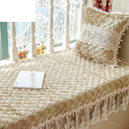 Price comparison product image Window sill cushion, Luxury retro bay window cushion, Sill pad, Simple non-Slip tatami-A 110x160cm(43x63inch)