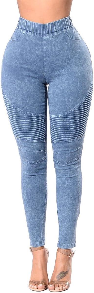 Pantalones Para Mujer Pantalones Leggings Treggings Cintura Alta Pantalones Ajustados De Color Solido Vaqueros Push Up Con Bolsillos 4 Colores S 2xl Amazon Es Ropa Y Accesorios