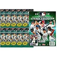 2019 Topps MLB Baseball Sticker Starter Kit (10 packs & 1 album)