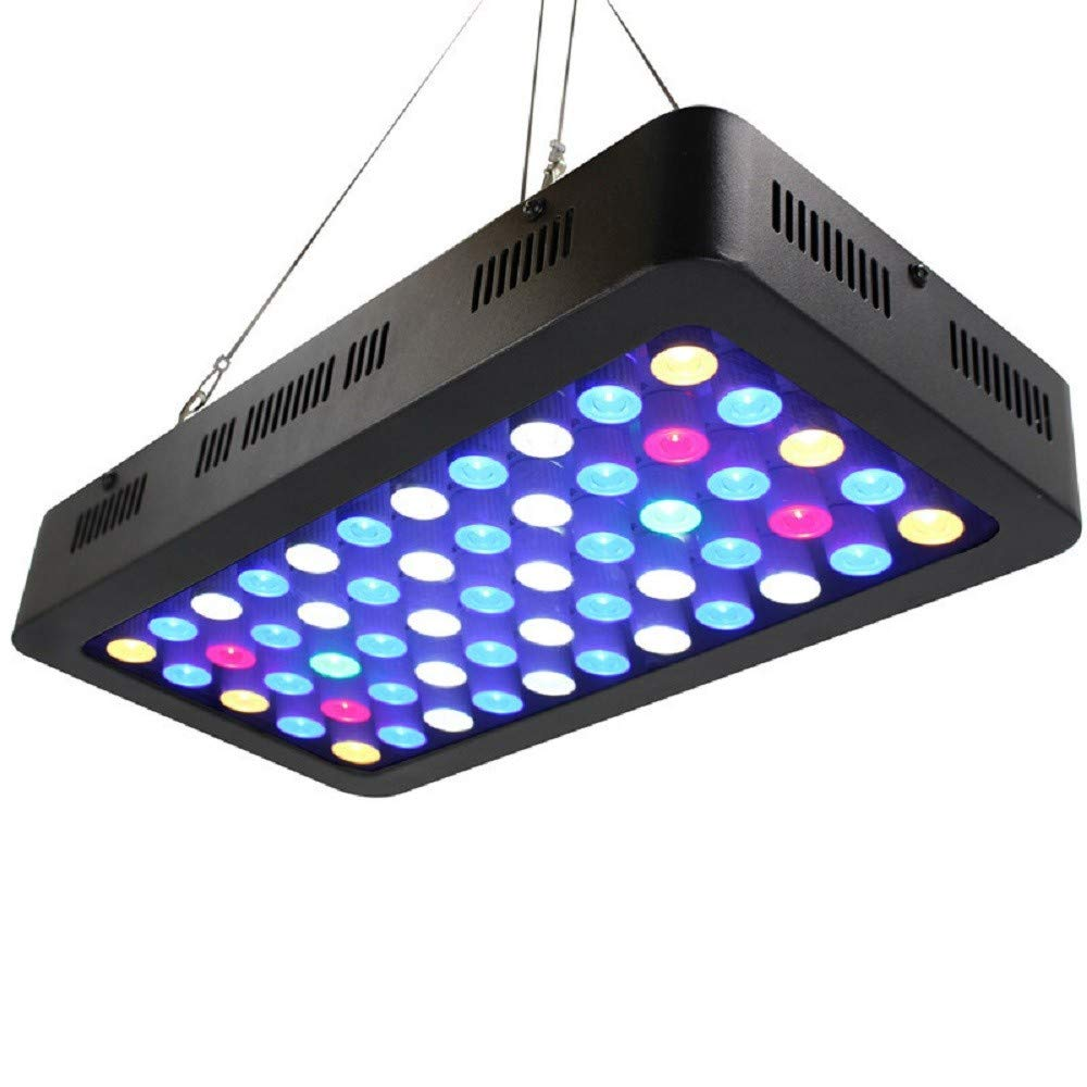 553W ZHZR Plant lighting dimmable aquarium fill light 165W Full spectrum Led coral fish tank 55  3W aquarium lights