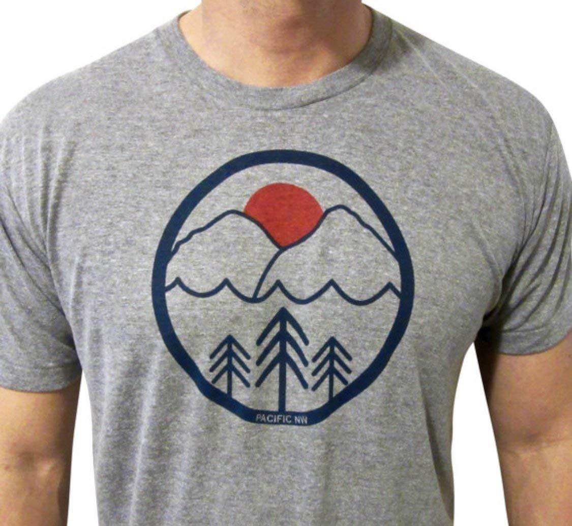 Pacific Northwest mens//unisex shirt PNW mens tshirt Pac NW Love mens shirt