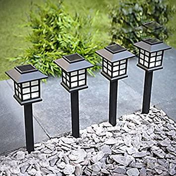Sogrand 8pcs Pack,Solar Lights Outdoor,Solar Light,Landscape Lighting,Solar