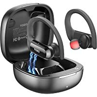 TOZO T5 Bluetooth Headphones True Wireless Earbuds TWS Sport Earphones Touch Control Headset with Wireless Charging Case…