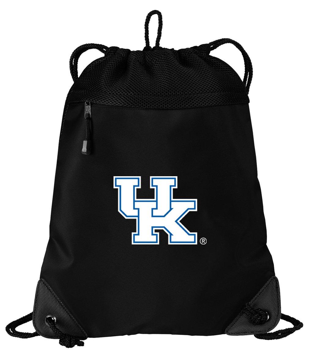 Broad Bay Kentucky Wildcats Drawstring Bag University of Kentucky Cinch Pack Backpack UNIQUE MESH & MICROFIBER