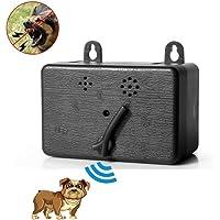 KOBWA Ultrasonic Dog Bark Controller, Indoor & Outdoor Anti Barking Device - 50 Feet Effective, 100% Pet & Human Safe Bark Stop Repeller for Small/Medium/Large Dogs