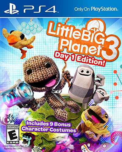All Sackboy Costumes (Little Big Planet 3 Launch Edition - PlayStation)