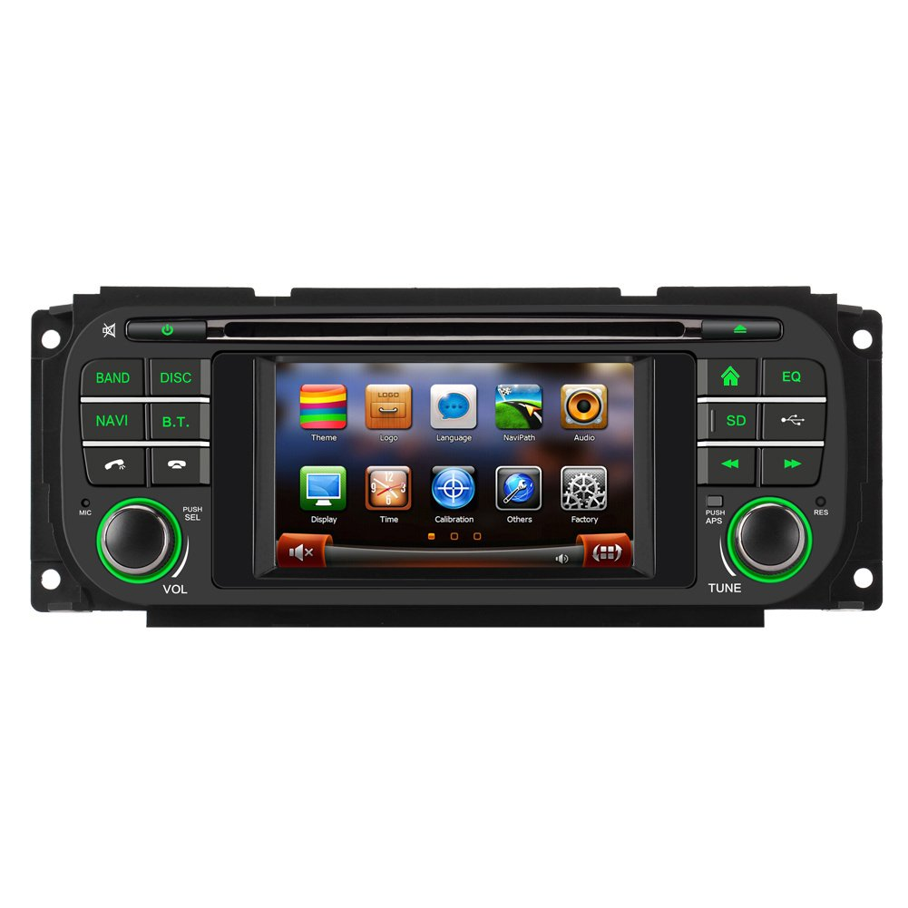 Amazon.com: Koolertron For 1999 2000 2001 2002 2003 2004 Jeep Grand Cherokee,  Dodge, Chrysler Car DVD Player with in-dash Navigation System (OEM Factory  ...