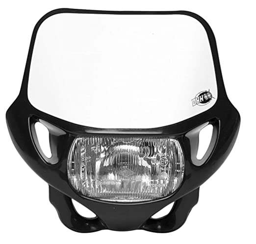 Ce Offroad Mx Headlight Black 12v 35w