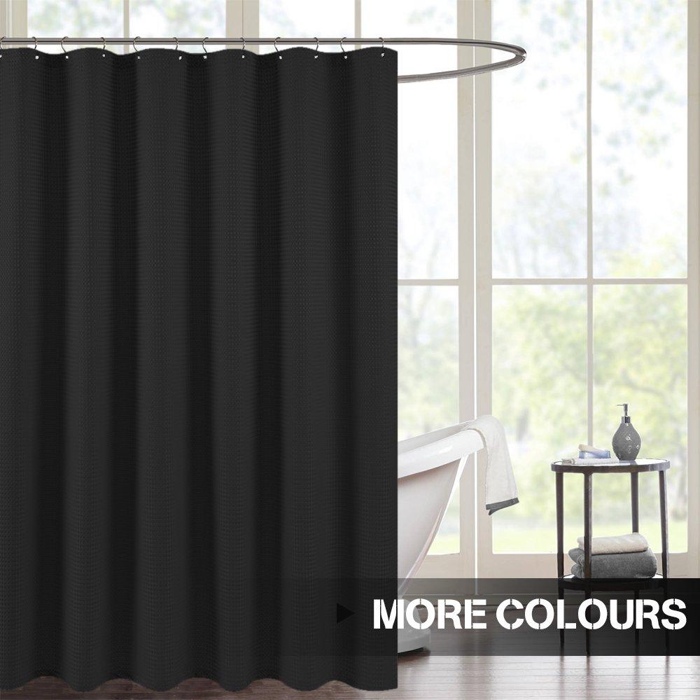 Amazon.com: Waterproof Shower Curtains for Bathroom Antibacterial ...