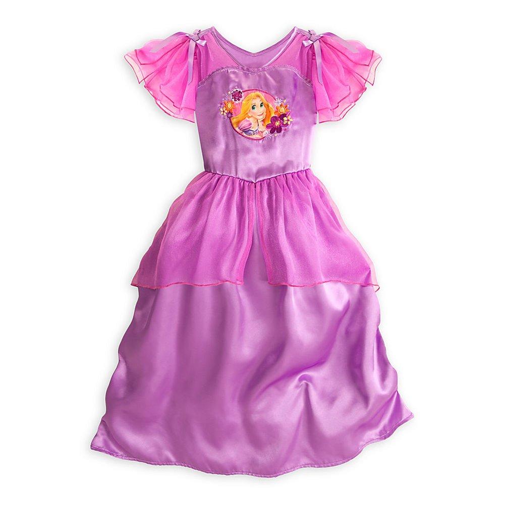 5T Disney Store Rapunzel Nightgown Sleepwear Size Small 5//6 Short Sleeves